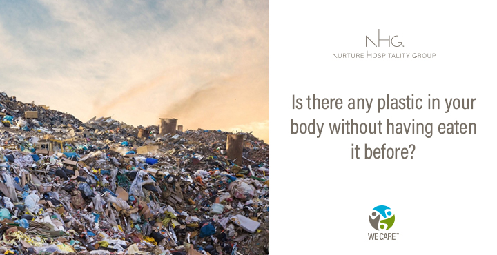 Is there plastic in your body without having eaten it before?